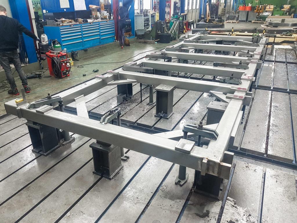 Maschinenbauteile und Sondermaschinenbauteile