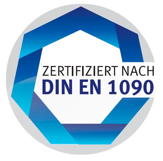 Qualifizierter Fachbetrieb nach DIN EN 1090-2